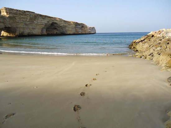 Shangri-La Al Husn Resort & Spa: Am Strand