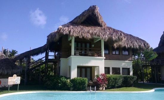 Zoetry Agua Punta Cana: Notre suite: tout l'étage, super salle de bain