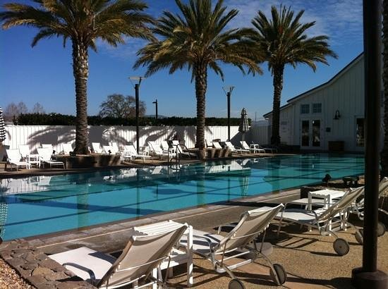 The Carneros Inn: lap pool