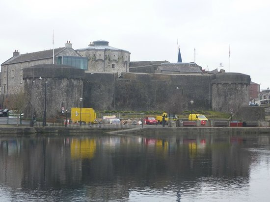 Athlone Castle from Across the River Shannon