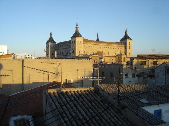 Oasis Backpackers' Hostel Toledo: panorama terrazza