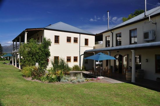 Lovane Boutique Wine Estate and Guest House : Garten