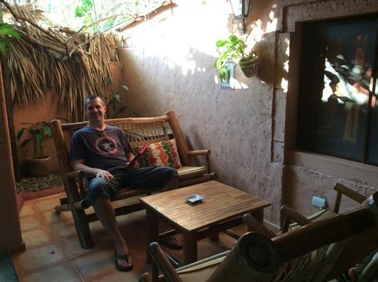 Casa Valeria Boutique Hotel : patio privé
