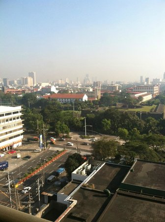 The Manila Hotel : View from the 12th Floor