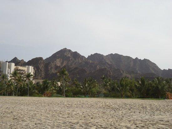 Al Bustan Palace, A Ritz-Carlton Hotel: Am Strand
