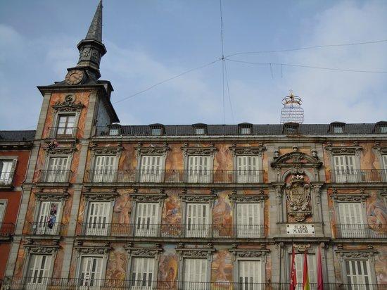 TRYP Madrid Plaza España: Plaza Mayor