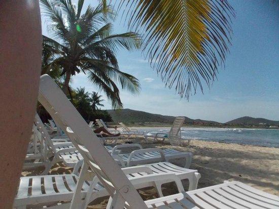 La Playa El Agua: Playa del Hotel Portofino