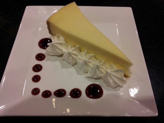 """HYATT house Charlotte Center City: New York Cheesecake """"Smooth as Silk"""" one of the best and made fresh daily :)"""