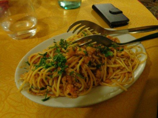 Ristoro Al Vecchio Teatro: Seafood pasta