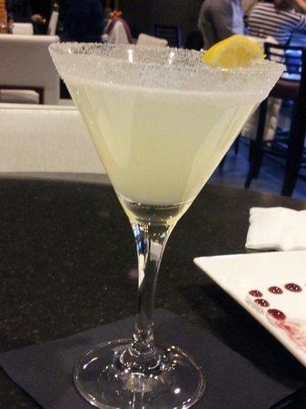 HYATT house Charlotte Center City: Lemon Drop Margarita ask for James the bartender is a friendly and tentative young man at HBar