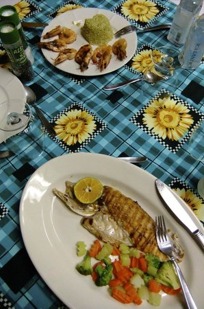 Restaurante El Patio: Our two dishes