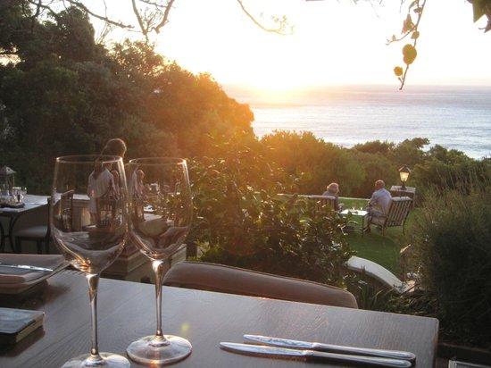 Camps Bay Retreat : Dîner romantique
