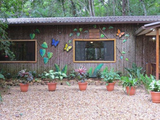Mariposa Jungle Lodge : Cantina/dining room
