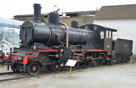 Museu del Ferrocarril : Máquina de vapor