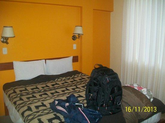 Hostal Muyurina : Apartamento de frente, no primeiro andar