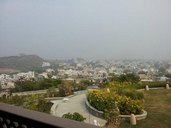Ramada Udaipur Resort and Spa : Vue sur la ville