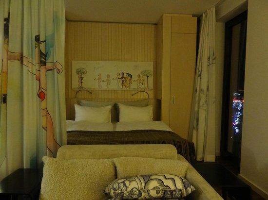 Scandic Berlin Potsdamer Platz: La cama comoda