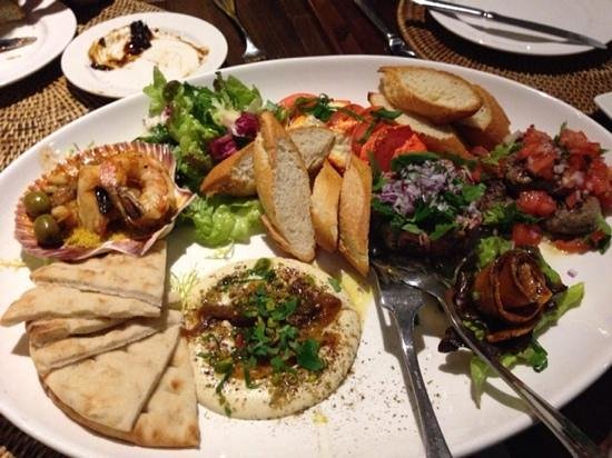 Sahara Café Lounge & Restaurant : Tapas and Starters
