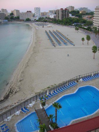Globales Santa Lucia Hotel: View from Hotel Balcony