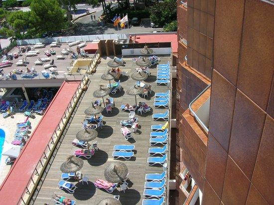Globales Santa Lucia Hotel: The sun terrace