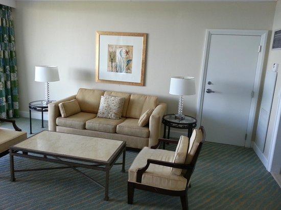 Grand Lucayan, Bahamas : Living Room