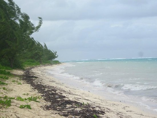 Barker's National Park: The beach at Barker's NP