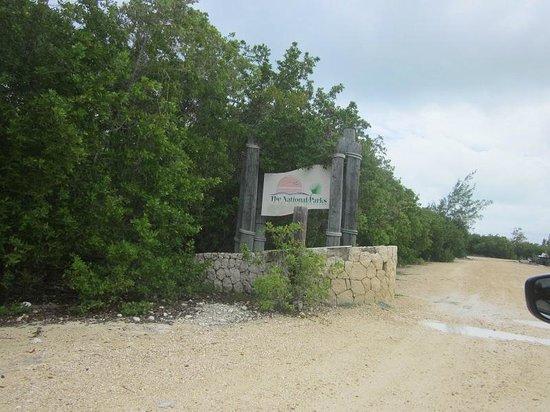 Barker's National Park: Entrance sign for Barker's NP