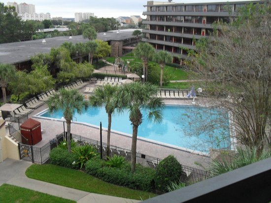 Rosen Inn International : View from the room