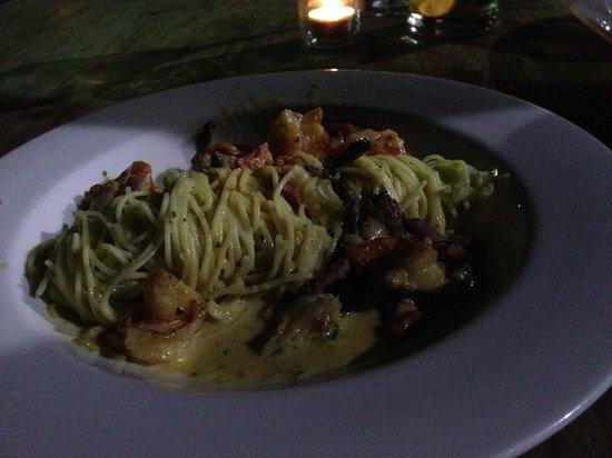 Kome: Seafood pasta