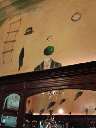 La Roue d'Or: decoración interior del restaurante