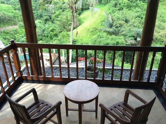 The Payogan Villa Resort & Spa: View from balcony of room