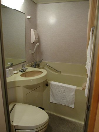 Hotel Listel Shinjuku: Our bathroom.