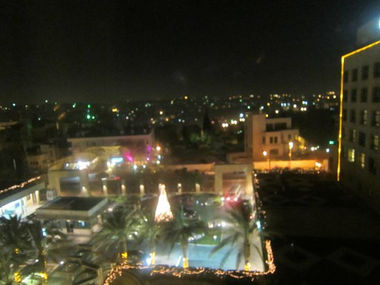 InterContinental Amman : View from my room