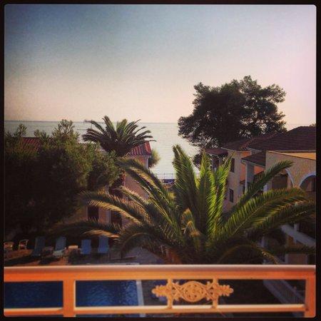 Iliessa Beach Hotel: Вид из окна