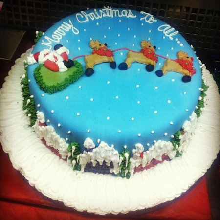 Olivas : Christmas cake