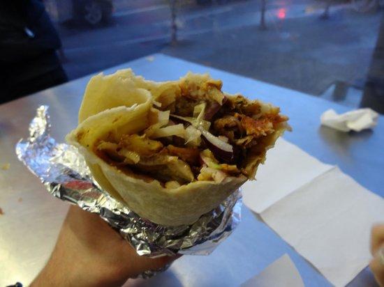 Mustafa's Gemüse Kebab: Meat