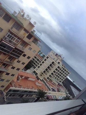 Checkin Concordia Playa: från balkongen på 8 vån