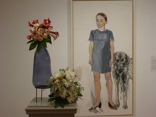 Worcester Art Museum: Julie and Aristotle by Alice Neal