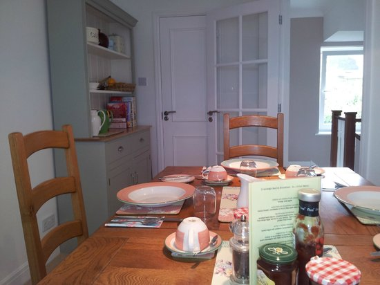 Cranleigh Bed & Breakfast: breakfast at Cranleigh B&B