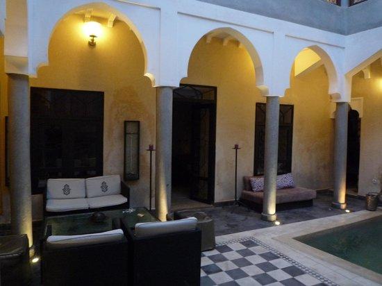 Riad Dar El Masa: salle à manger