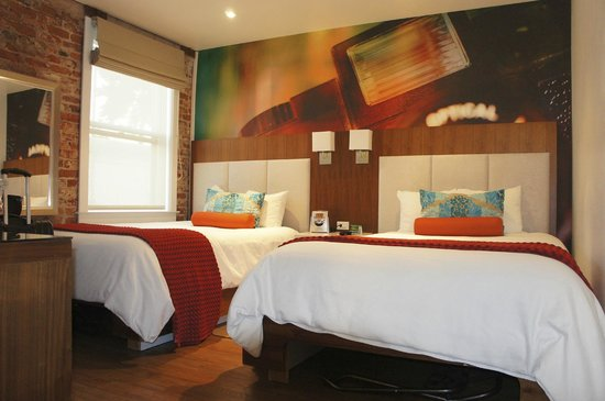 Hotel Indigo Santa Barbara: Quarto- clean e bem arrumado