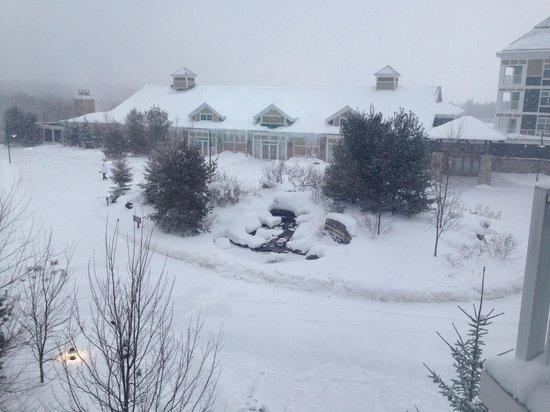 JW Marriott The Rosseau Muskoka Resort & Spa: Winter wonderland