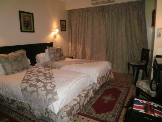 Hotel le Caspien: notre chambre côté piscine