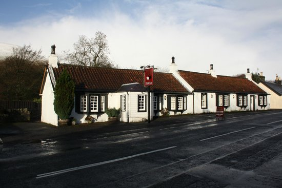 Baldiesburn Bed & Breakfast: Inn at Muckhart for authentic country pub atmosphere & hearty eating