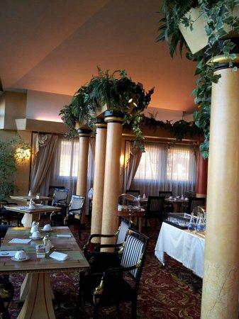 Antares Hotel Rubens: sala colazioni