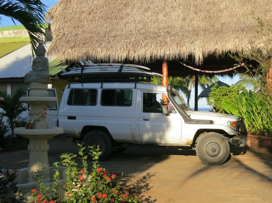Rise Up Surf Tours Nicaragua: The Surfmobile ready for another adventure