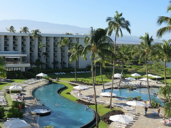 Waikoloa Beach Marriott Resort Spa View From Pool Room
