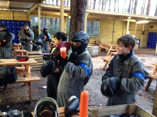 Camouflage Paintball: A great day out