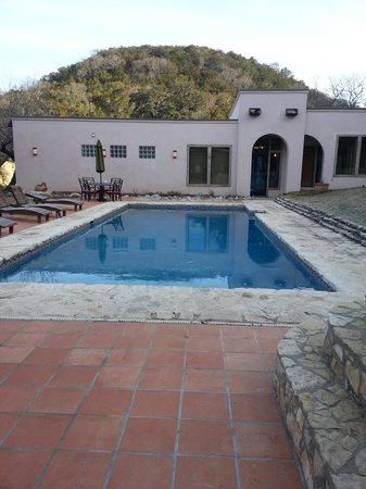 Escondida Resort: lovely pool and spa