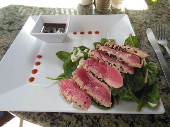 Sun Dog Cafe : Fabulous ahi tuna appetizer